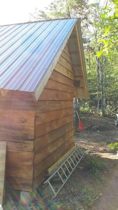 Back side of cabin