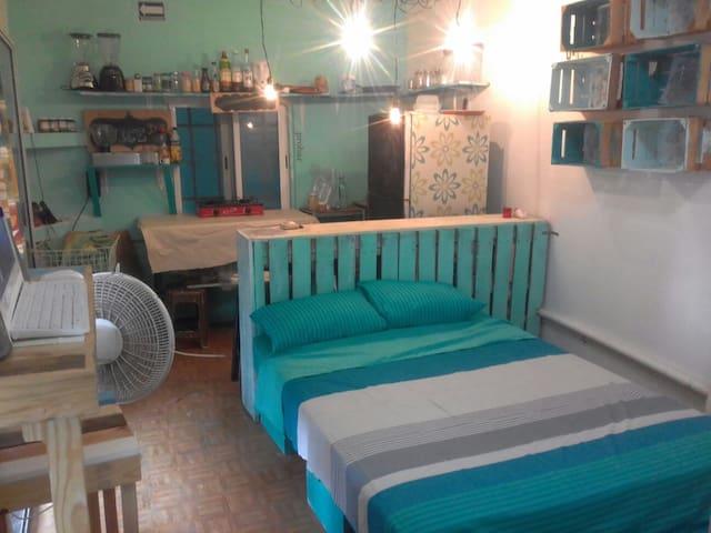 Hermoso espacio a 1 cuadra de la playa - Puerto Morelos - Loft