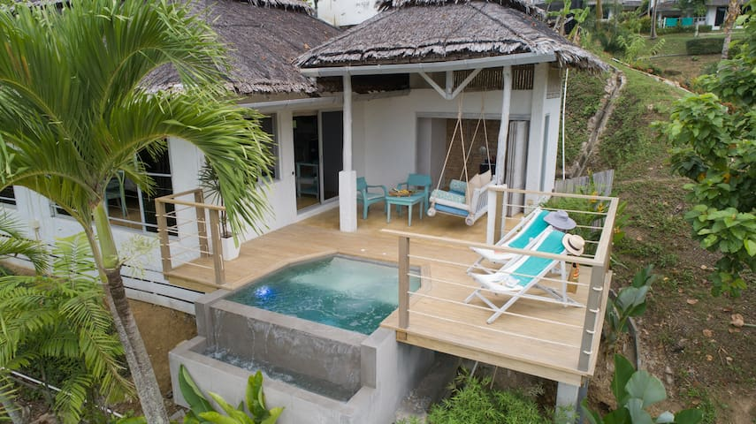 Promotion - Plunge Pool Deluxe Studio with seaview