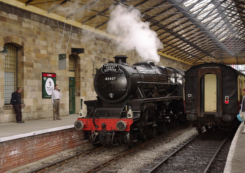 Harry Potter fans? The North Yorkshire Railway is a short walk away.