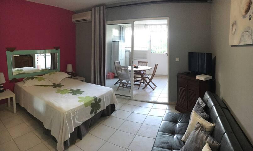 Cozy Studio aux Trois Ilets - Les Trois îlets  - Apartament