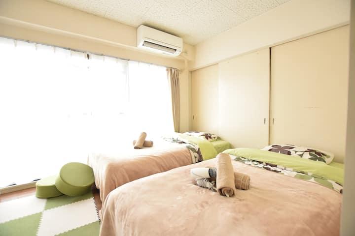 #52 5PPL/Comfy & Cozy Room in Dainichi, Osaka! 502