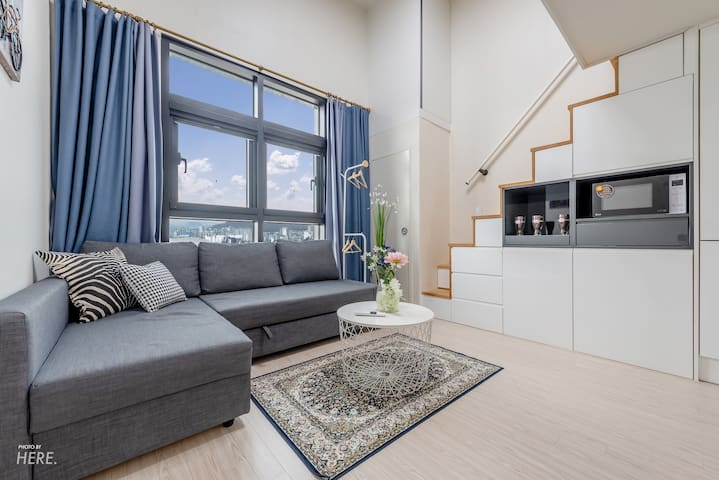 [New Open]Sunny House place in Hongdae, Loft style