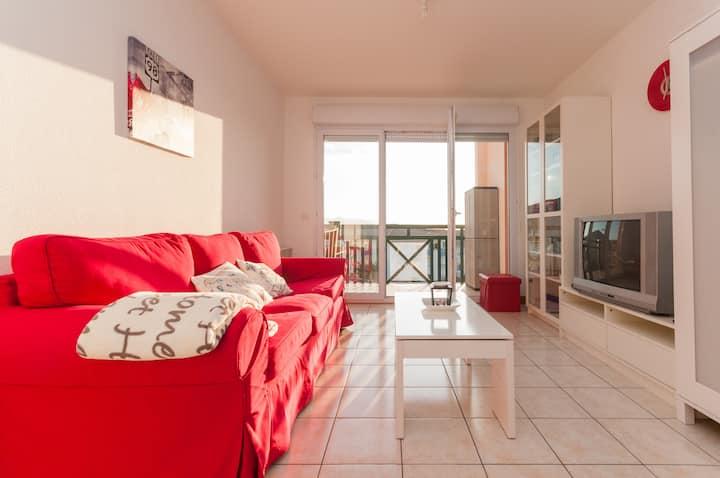 Apartamento para parejas en Hendaya