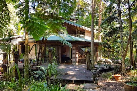 Cloud Temple Rainforest Retreat - Byron Bay