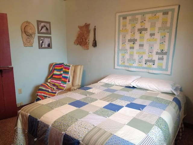 Goat Room with queen bed