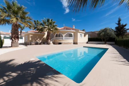 Luxury 3 bedroom villa with private pool - Benijofar - Villa