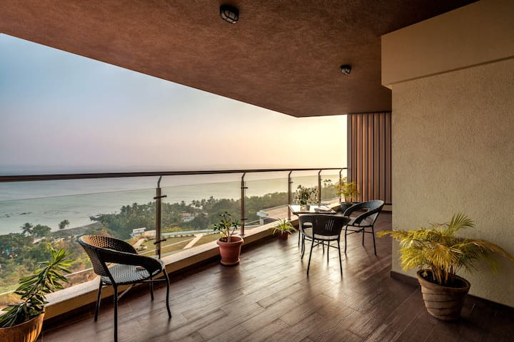 2BHK- LUXURY SEA VIEW APT D2