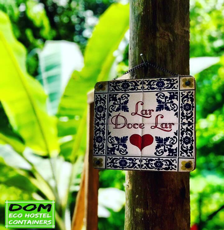 Dom Eco Hostel Containers - Suíte Cambury