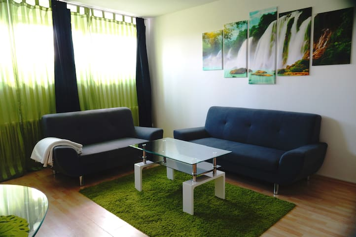 Quiet basement flat with 2. 5 rooms & 60 m ² - Winnenden - อพาร์ทเมนท์