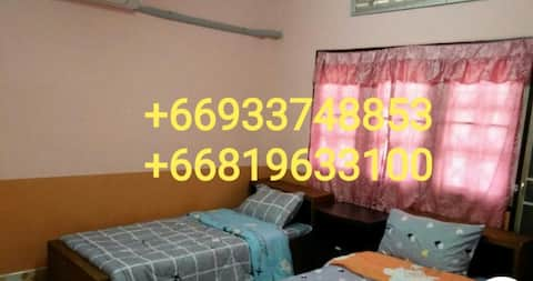 Pink  Guest House Room C (Air condition)