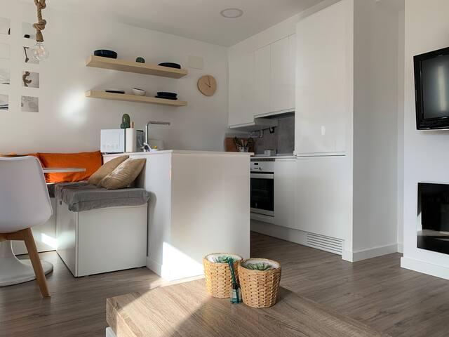 Loft con 2 habitaciones recién reformado.