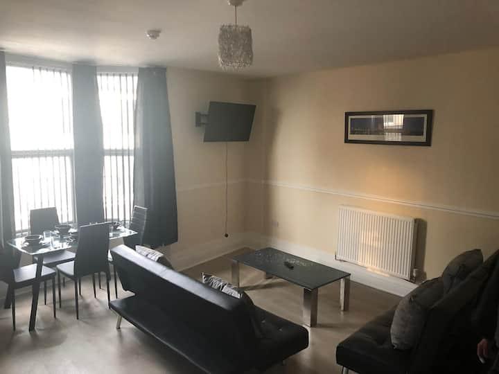 Apartment 1, 72 queen street, Rhyl, LL18 1SB