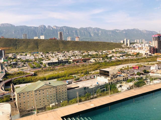 Apartment with the best view of the Sierra Madre