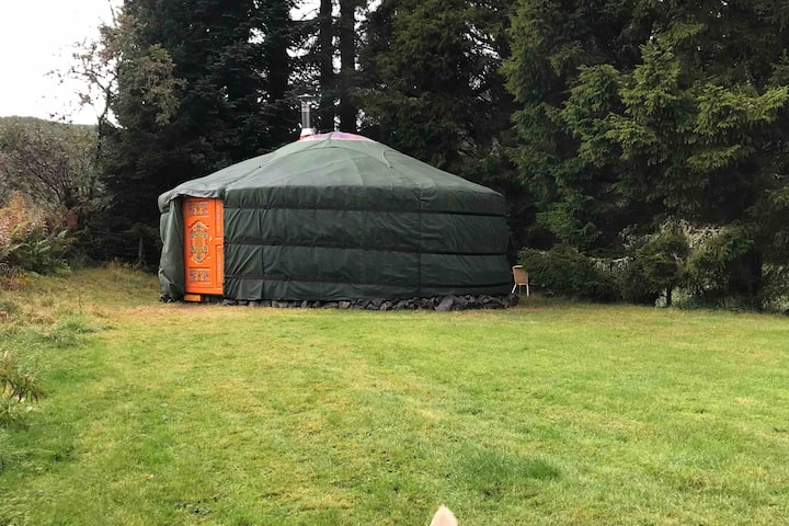 Eskdalemuir accommodation yurt