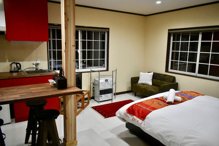 Self-contained Family suite at Altitude Madarao