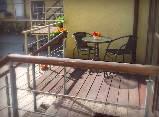 Cozy apartment with terrace (20m²) - Palanga
