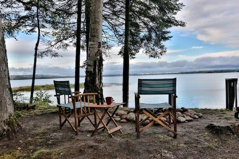 Czysty wynajem domków Michigan nad jeziorem Superior