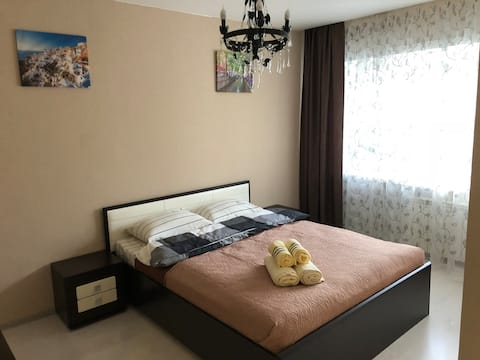 Cozy apartment at Amurskiy bul'var 36