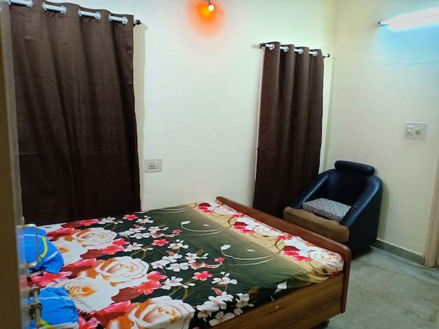 Private suite with safety in neat &clean 2bhk flat