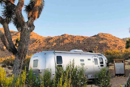 Airstream with Ebikes