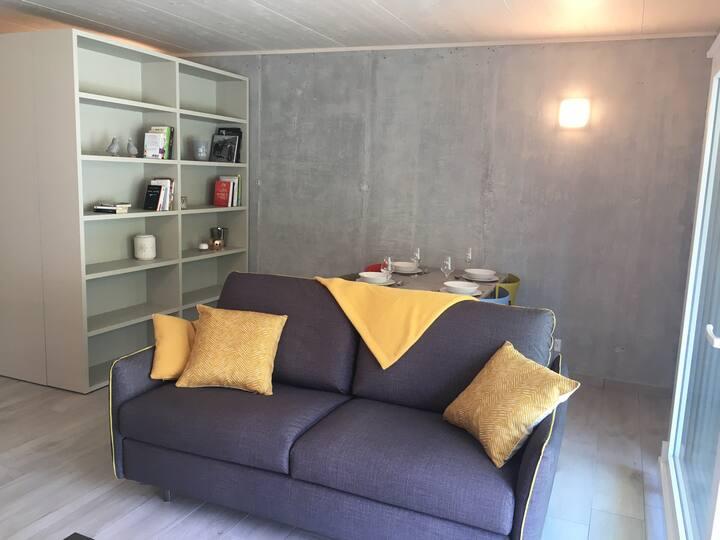 Valais central, loft 60 m2 - 2,5 pièces meublé