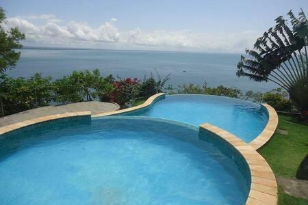 Suíte em  Morro de São Paulo com piscina vista Mar - Morro de São Paulo