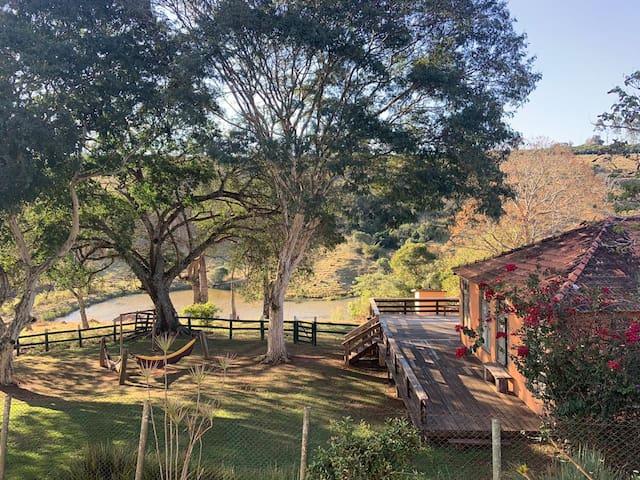 Sítio Sul De Minas -Isolamento Natureza Casa de Ca