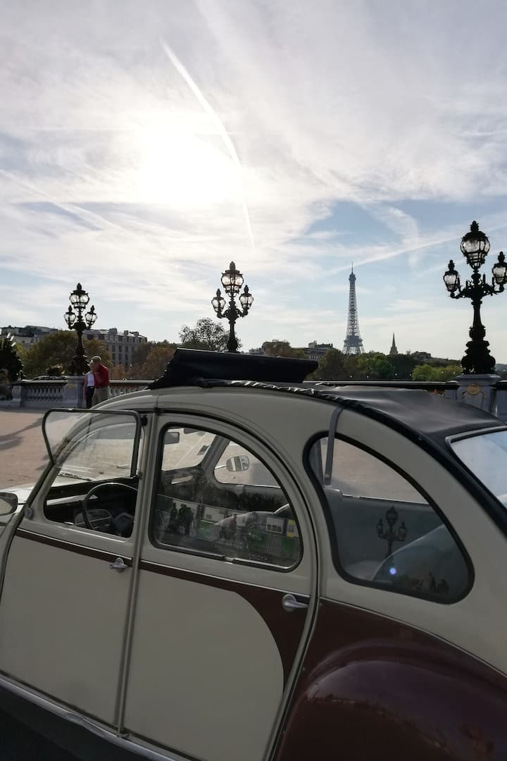 A view on Eiffel Tower
