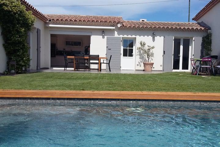 Maison avec piscine à 10 min. d'Aix en Provence