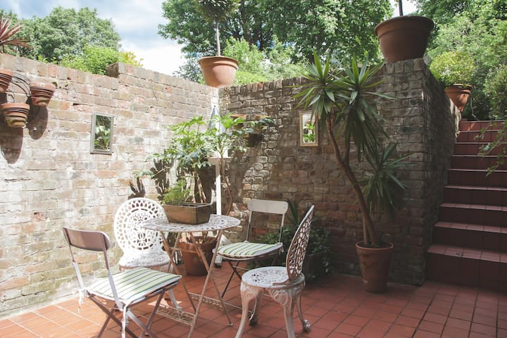 A peaceful spot for a morning coffee or afternoon snooze!