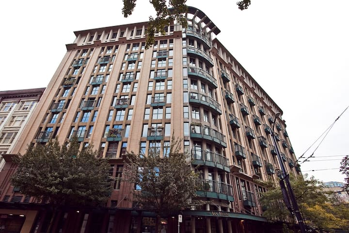 Studio Downtown located Vancouver