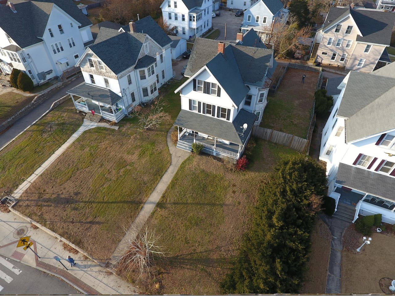 Our house from above