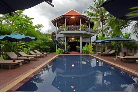 Garden View Room + Breakfast + Pick up service - Krong Siem Reap - Boutique hotel