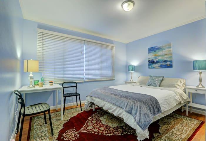 Bay Area No.3 New Beautiful Room 三号大主卧