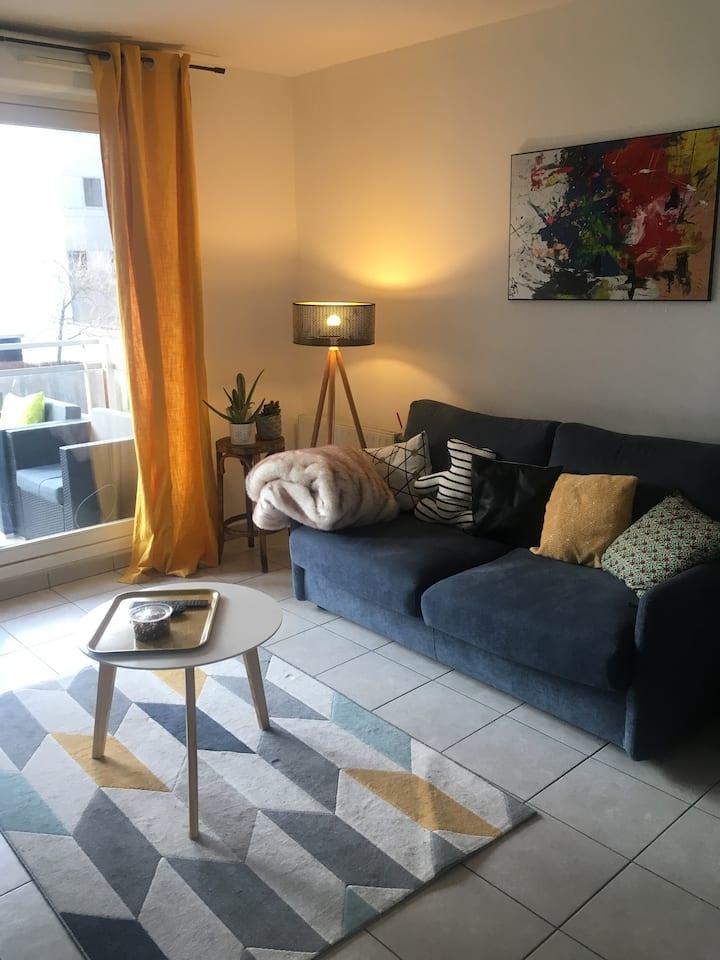Chambre dans appartement calme et lumineux