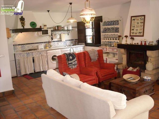 FINCA EL SAUCO - Cantàbria - Cabana