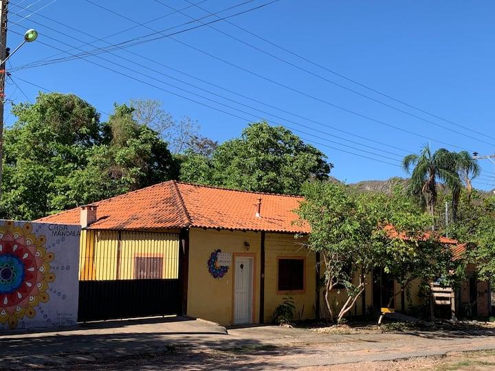 Casa amarela - Cavalcante - GO