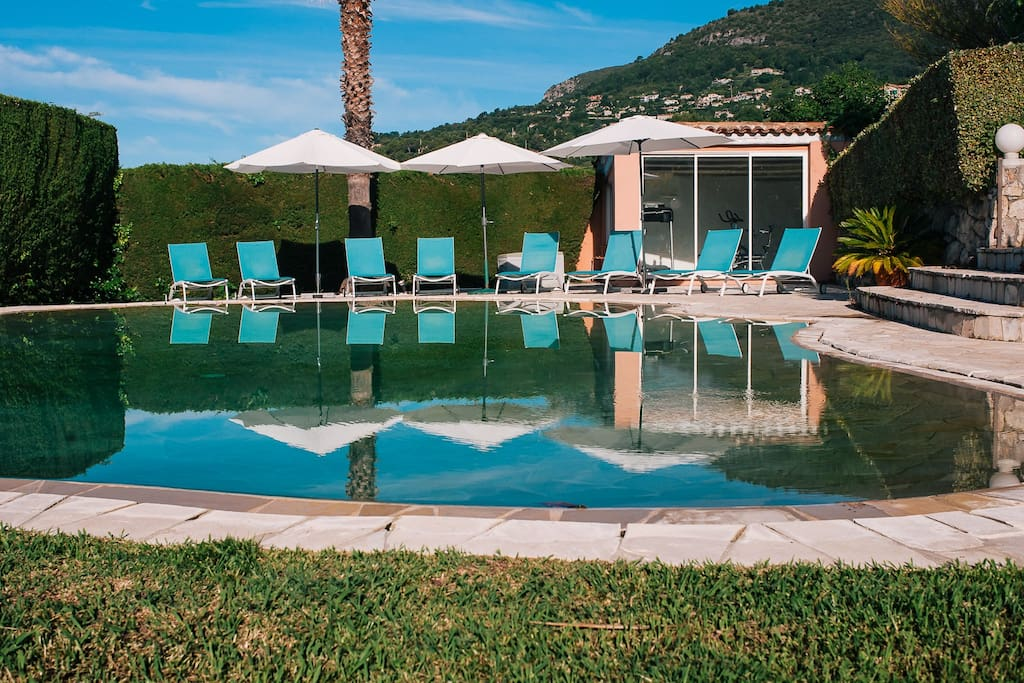 Enjoy the salinated swimming pool, heated in the cooler months (up to 2m deep)