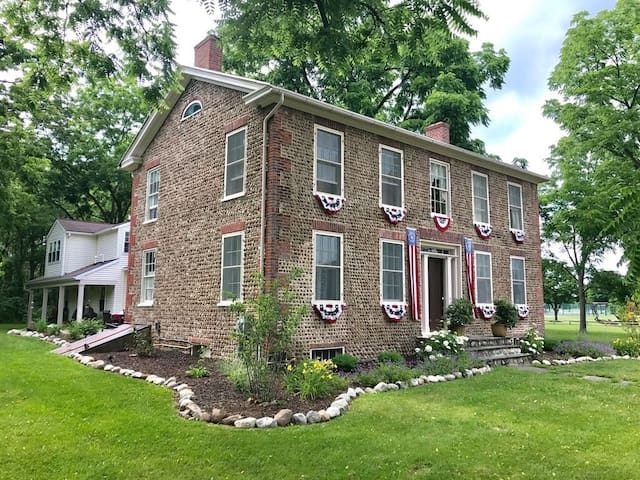 Historic Bullis House near Hill Cumorah