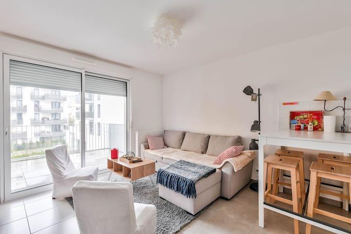 Appartement à deux pas de la Garonne *BORDEAUX*