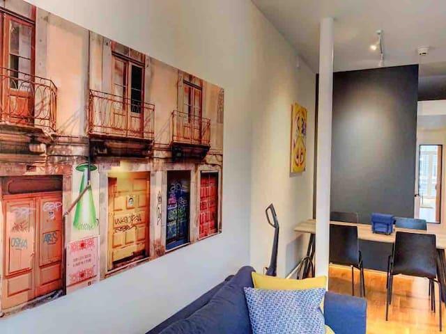 Urban apartment in the heart of Stavanger