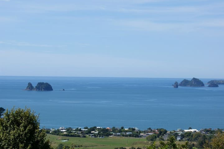 Stunning Ocean and Rural Views - Whitianga - Apartment