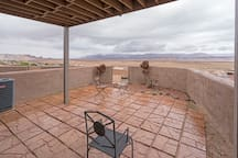 Lower level outdoor patio