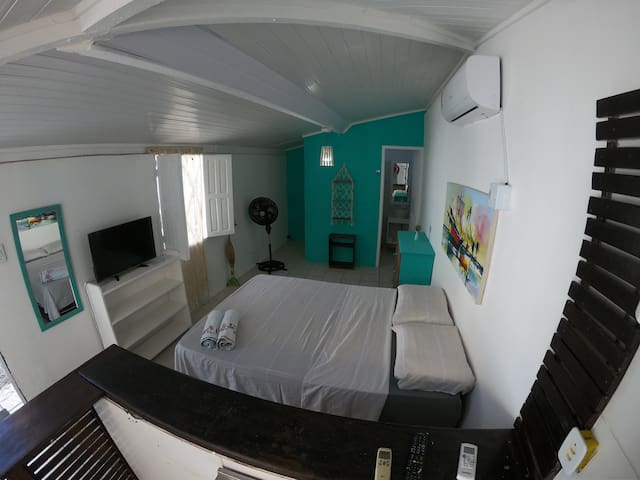 Suite Principal en Casa de Mar Maracaipe