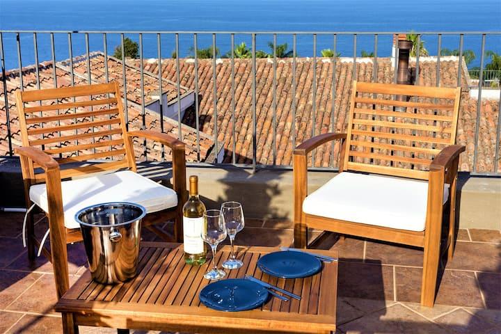 Villa near Etna - Sea View up to Taormina!