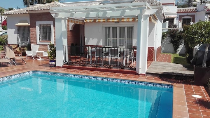 NERJA.VILLA 3 ROOMS AND PRIVATE POOL