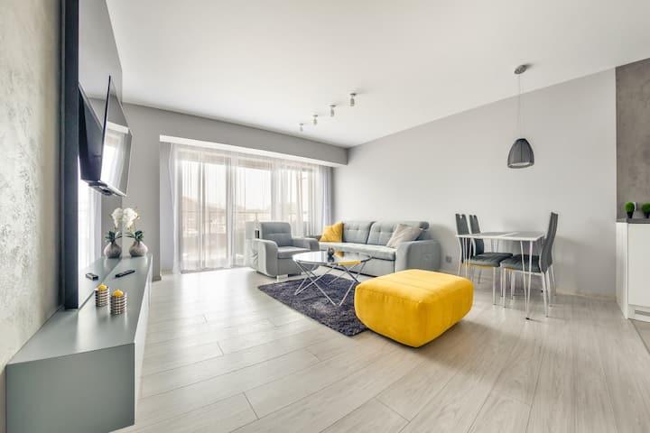 Bulwar Portowy 7 Apartament 7 dla  4 osób