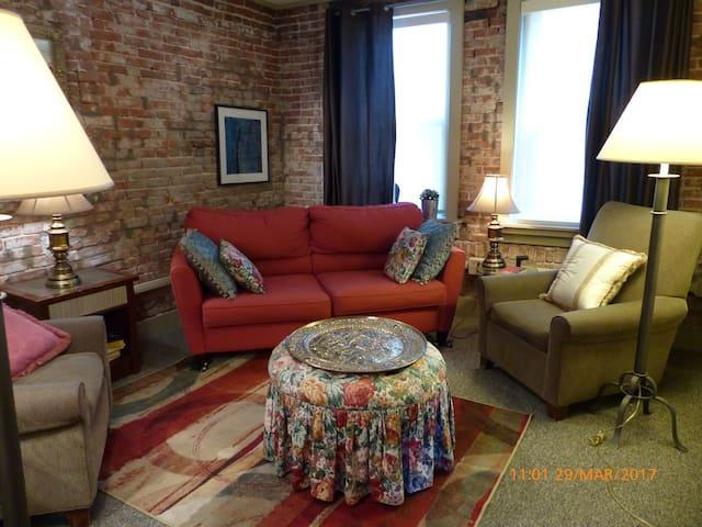 Cozy 1 BR Apartment Adjacent to Downtown - Pittsburgh - House