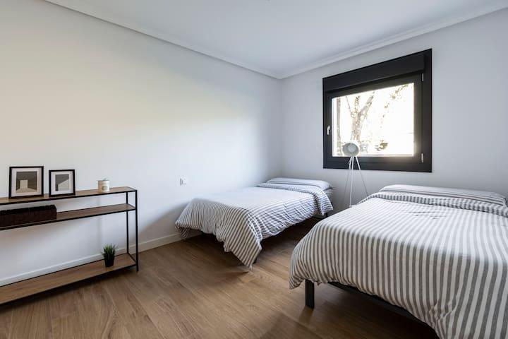 Habitacion doble con dos camas individuales 3